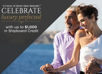 $1,000 shipboard credit with regent